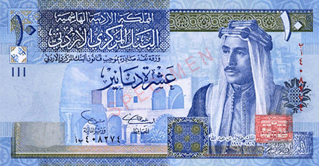 top expensive currencies jordanian dinar