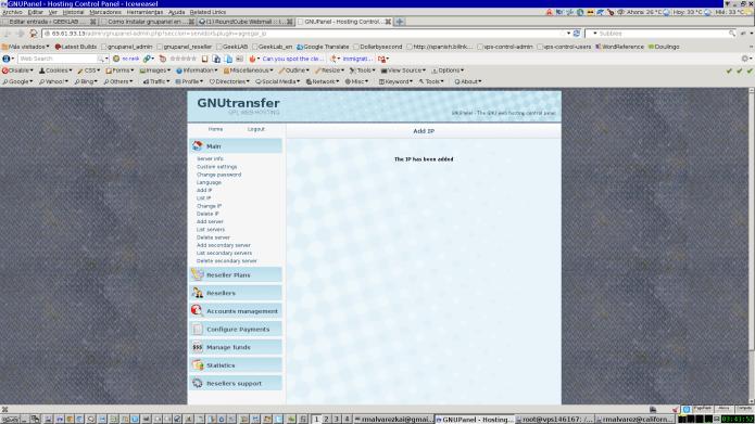 GNUPanel Ubuntu 12.04 Precise Pangolin 41