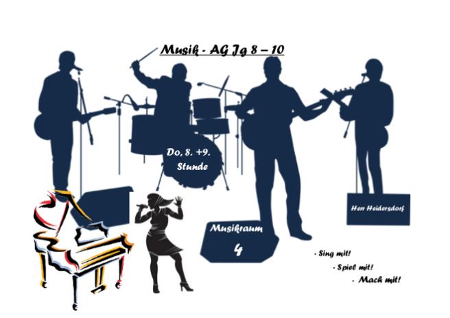 MusikAG Plakat