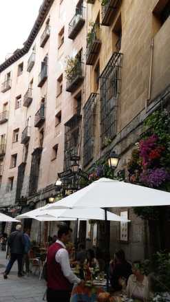 Strasse zur Chocolatería San Ginés