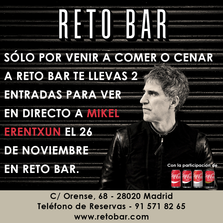 Reto Bar Mikel Erentxun