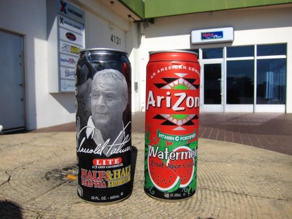 沖縄米軍基地の飲み物