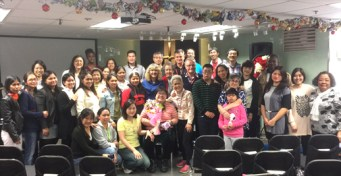 Though we were absent when this photo was taken last Sunday, this is the friendly congregation of River Grace, the church we have joined in TST Hong Kong. Many of the members are Filipino, but we have friends from many nations there. The pastors are our friends Dave and Cindy Aufrance.