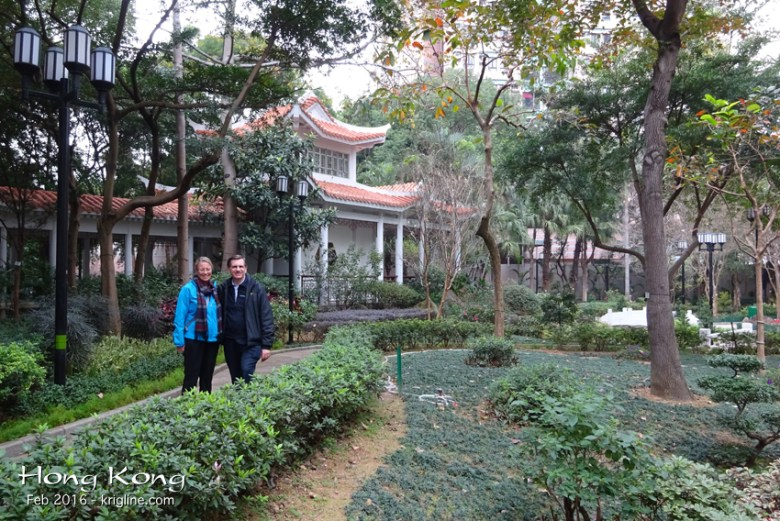 With buildings everywhere, it was refreshing to find this beautiful, small public garden in Shamshuipo.