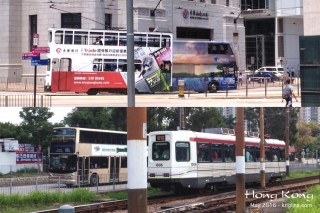 """HK has an interesting variety of modes of transport, including classic ferries, streetcars, a cable-tramway, an efficient """"MTR"""" subway system, double-decker buses, and a modern light-rail line."""