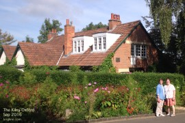 """Sept 1: toured the home of one of our favorite authors: CS Lewis. The place is called """"The Kilns"""", near Oxford."""