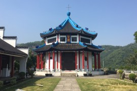 We got back in time for Vivian to participate in a weekend retreat at this beautiful centre in Hong Kong.