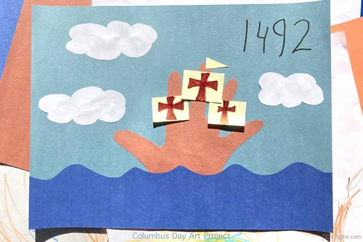 Columbus Day artwork