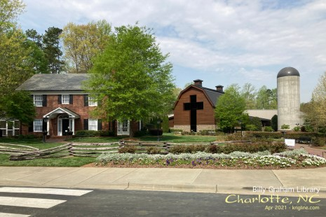 After two short days at Ridgecrest, we drove home via the Billy Graham Library.