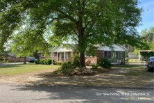"""Finally, the need for more space has led us to buy this 1968 home in West Columbia. (More about that after we """"close"""" the purchase.)"""