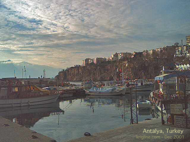 St. Paul landed here at Antalya's quaint harbor (called Attalia in Acts 14:25). We hope his companions were as gracious as Michael's sister and her family, who showed us a wonderful time!