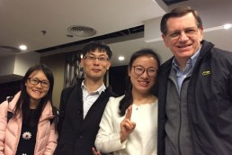 """""""Tina"""" (one of Michael's former students) and friends showed us around """"Canton"""" for two wonderful days. We love having former students all over China!"""