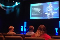At the Willow Creek Global Leadership Summit