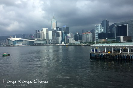 Here's a nice picture of the main business district, taken from the Maritime Museum.