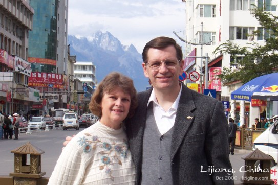 Millions of tourists visit Lijiang every year. I'm sure they expect to see the beautiful Jade Dragon Mtn, like Vivian and I did on our first visit (2006).