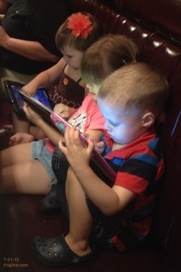 "Already ""connected"" at ages 3 and 4!"