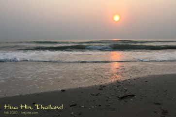 I enjoyed a meditative hour or two, watching the sun rise and collecting shells for the grandchildren.