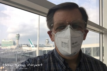 A complete physical in Thailand assured Michael that he was healthy, and he wore a mask for two full days in Hong Kong to stay that way!