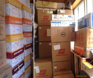 We left our things in Xiamen last April, packed in almost 100 boxes. Now it's time to bring them to HK.
