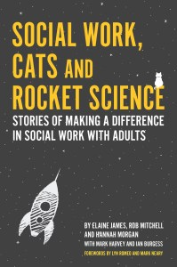 Book Cover: Social Work, Cats and Rocket Science