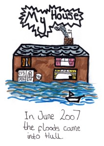 Hull Children's Flood Project Storyboard Image