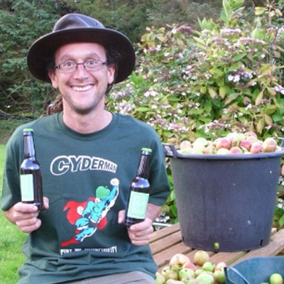 Tim Peters and Dwynwen Cider