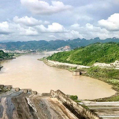 From Rivers to Reservoirs: reconstructing downstream sediment transport to the Red River Delta, Vietnam