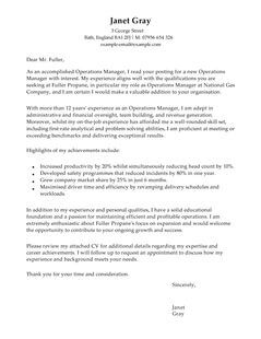 management cover letter template | Poemdoc.or