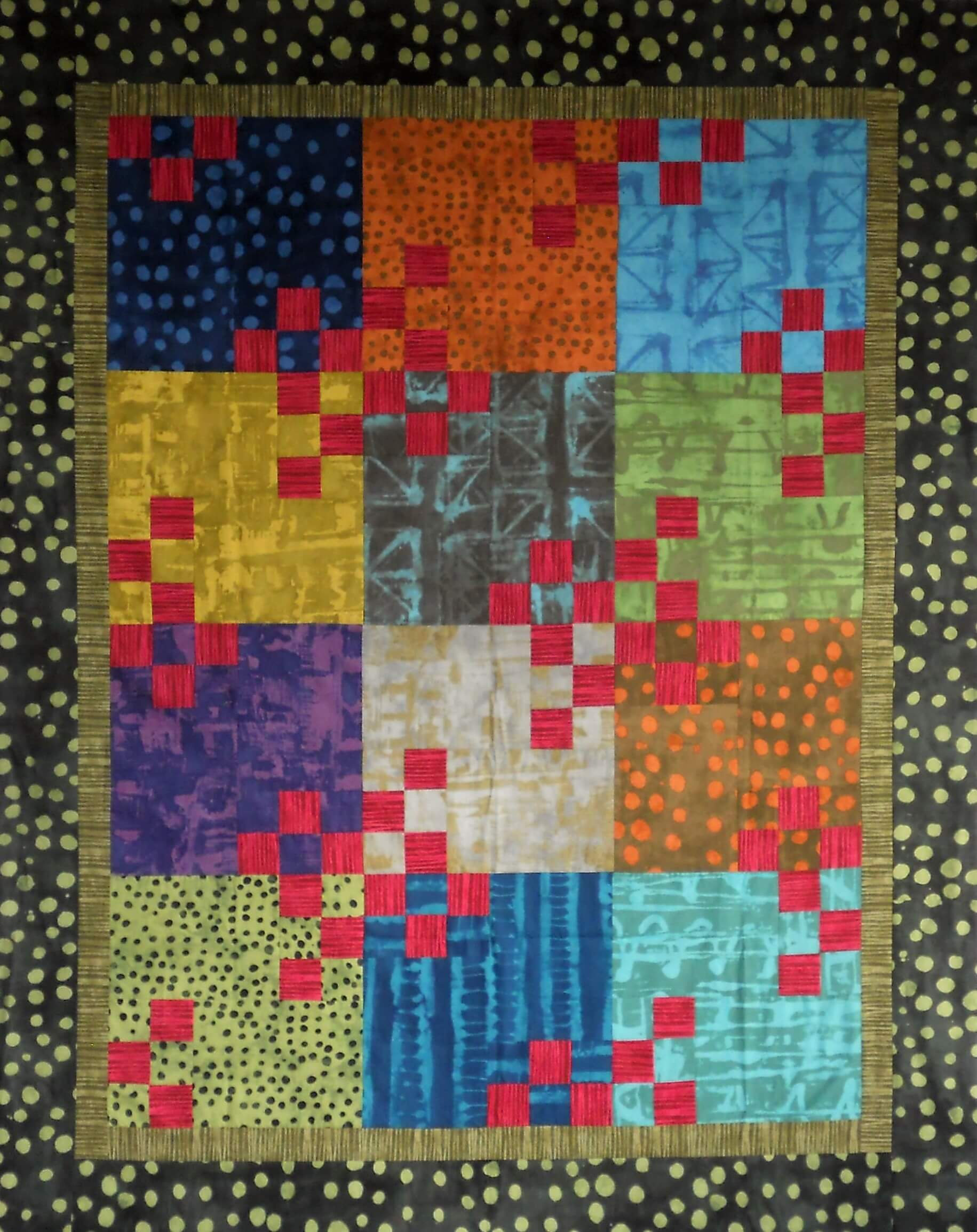 Scrap Or Multi Fabric Maple Island Quilts