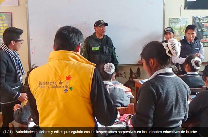 "Plan ""Mochila Segura"" llega a unidades educativas"