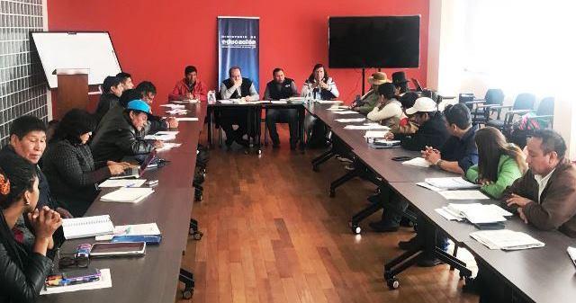 Educación atiende demandas de Bloque y Consejos Educativos de Pueblos Originarios