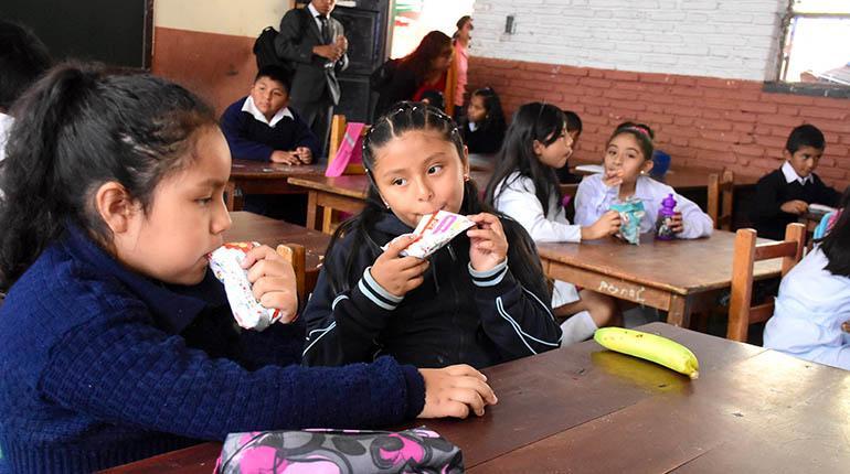 Padres se movilizarán por desayuno escolar