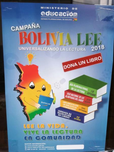 Educación lanza campaña de recolección de libros