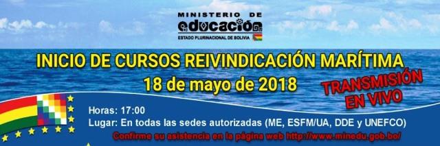 Educación iniciará cursos de actualización sobre Reivindicación Marítima para maestros del SEP