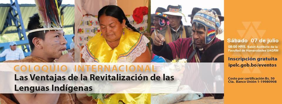 Coloquio Internacional: «Las ventajas de la revitalización de las lenguas indígenas»
