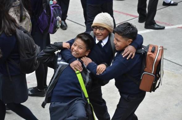 En La Paz vuelven a clases; en Oruro y Potosí, el martes