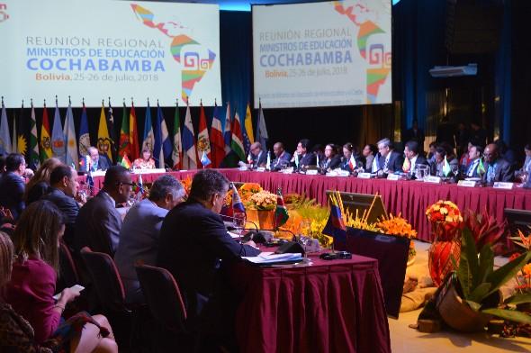 II Reunión Regional inició con el debate educativo de acuerdo a la Hoja de Ruta