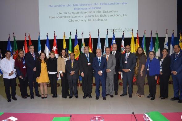 Concluyó Reunión de Ministros de Educación de la Organización de Estados Iberoamericanos (OEI)