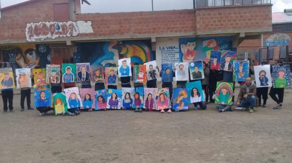 """""""Almas y Trazos"""", evento de arte donde los protagonistas son jóvenes presos"""