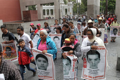 'Insostenible', versión oficial de la desaparición de 43 estudiantes en México