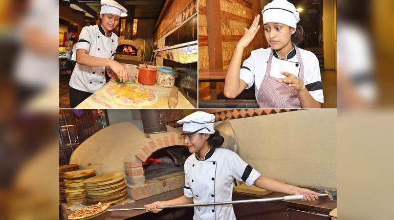 Dayana logra graduarse de chef venciendo su dificultad auditiva