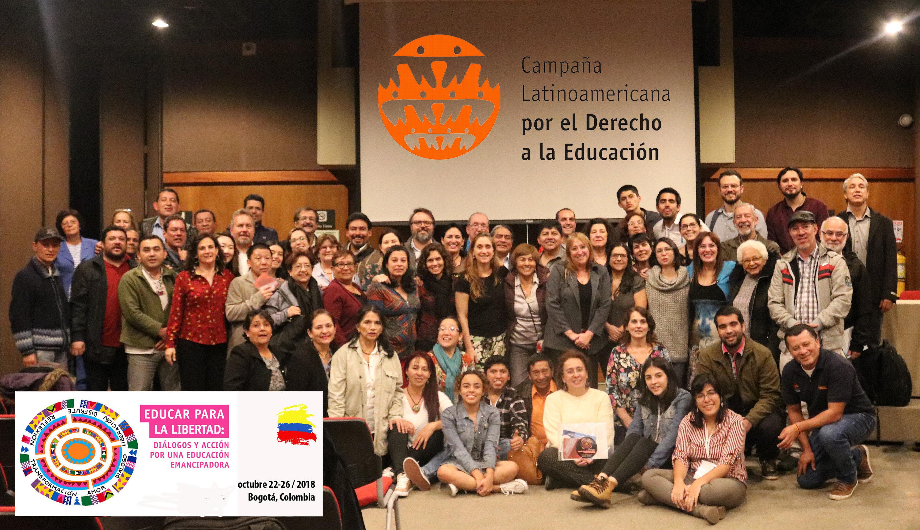 X Asamblea Regional de la CLADE hace un llamado por la realización de una educación emancipadora y garante de derechos