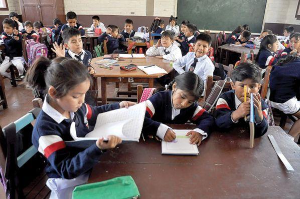 La Paz, Oruro, Potosí y Chuquisaca terminan clases el 7 de diciembre, en el resto de los departamentos el 30 de noviembre