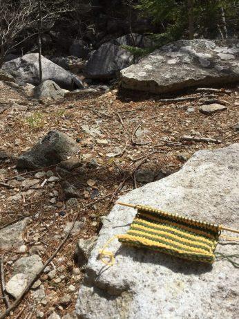 アフガン編みだよ