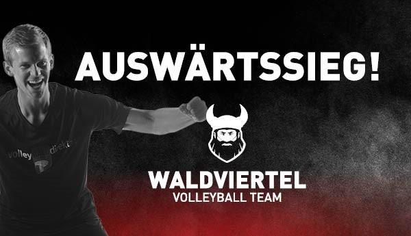 Volley League Men – Trotz Sieg, Waldviertel vom Pech verfolgt