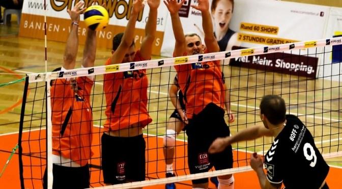 Volley League Men – Nordmänner feiern wertvollen Sieg im NÖ-Derby