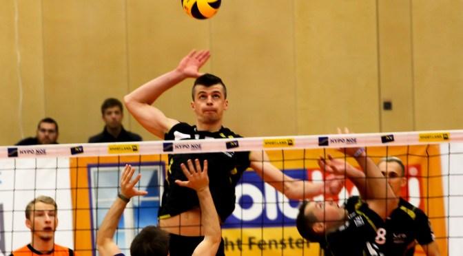 Volley League Men – Amstetten jubelt über ersten Heimerfolg