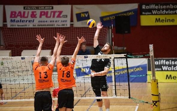 Volley League Men – hart umkämpftes NÖ-Derby geht an die Nordmänner