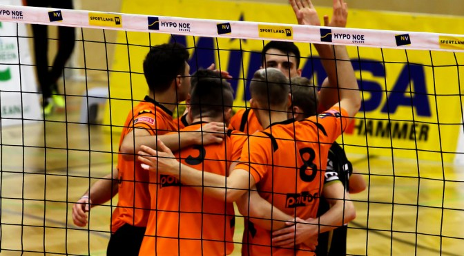 Volley League Men – Amstettner knöpfen Tabellenführer einen Punkt ab