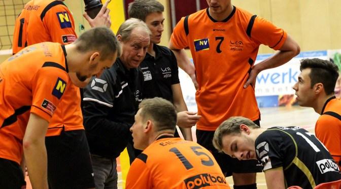Volley League Men / VCA Amstetten verliert nach tollem Kampf gegen Tabellenführer Acih/Dob mit 1-3